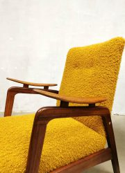 Fifties Dutch vintage design armchair relax stoel