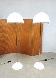 vintage retro vloerlamp minimalism Iguzzini Baobab Italian floorlamp