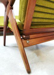 midcentery modern lounge bank vintage armchairs sofa de Ster Gelderland Dutch design