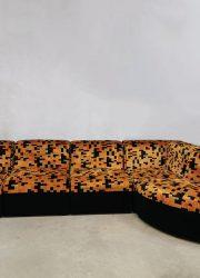 bestwelhip modulaire bank Vintage design geometrische bank velvet modular sofa