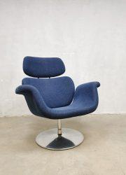 Vintage easy swivel chair lounge fauteuil Pierre Paulin Artifort