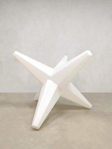 Eighties design pendant lamp jaren 80 ster hanglamp 'Star' retro