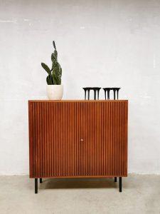 Vintage midcentury Dutch design cabinet kast 'Minimalism'