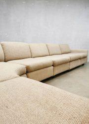 Vintage Dutch design modular sofa lounge bank Geoffrey Harcourt Artifort