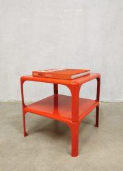 Vintage stackable tables bijzettafels 'Demetrio 45' Vico Magistretti Artemide