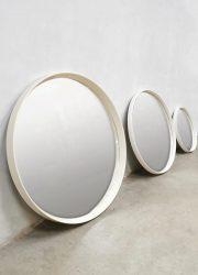 Space Age design mirror set of 3 minimalism retro