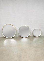 Vintage design mirror set of 3 minimalist style space age retro minimalism space age