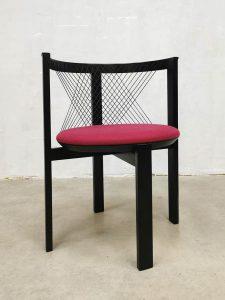 Danish vintage design String dining chair stoel Niels Jørgen Haugesen
