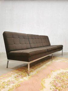 Midcentury modern vintage design sofa couch bank Knoll 'minimalism'