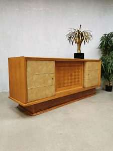 Midcentury modern sideboard cabinet dressoir Art Deco style