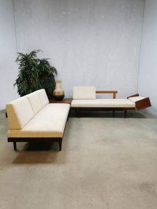 Vintage design daybed sofa lounge set coach bank table Ekornes Relling