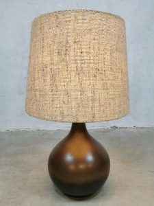 Vintage German ceramic table lamp tafellamp Rosenthal Studio Linie