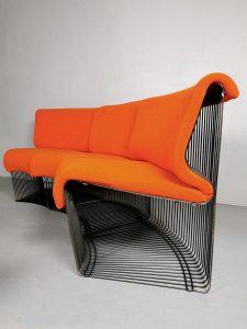 Vintage design Pantonova modular sofa bank Verner Panton Fritz Hansen