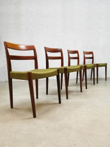 Vintage Swedish design dining chairs eetkamerstoelen Nils Jonsson Troeds