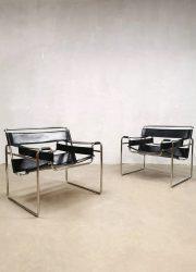 Vintage design Wassily armchair fauteuil Marcel Breuer by Fasem