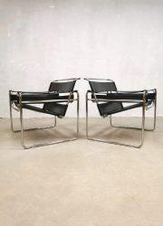 Vintage design Wassily armchair fauteuil Marcel Breuer Fasem