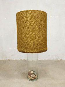 Vintage design glass table lamp tafellamp 'Natural Rocks'