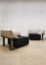 Vintage design chairs sofa 'model 960 Quadrio' Michael McCoy Artifort