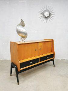 Vintage Scandinavian design sideboard cabinet dressoir 'Two tone'