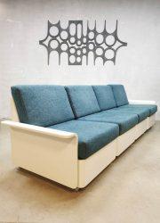 Vintage modular sofa modulaire elementen bank Space Age