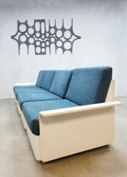 Modulaire vintage midcentury design Space Age bank en salontafel