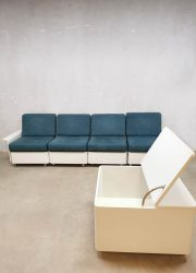 Space Age midcentury design couch sofa modular modulaire bank salontafel