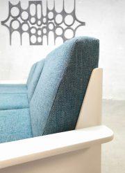 Vintage retro lounge set modulaire bank en salontafel Space Age